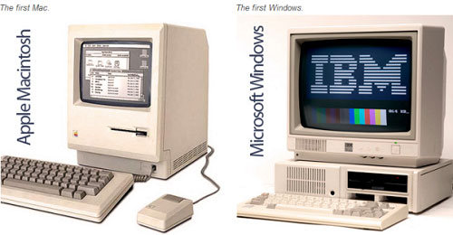 The first computer - ibm vs mac