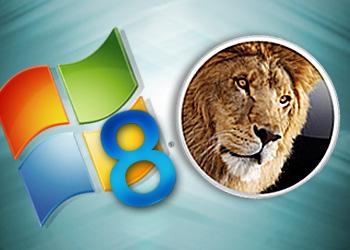 lion vs windows