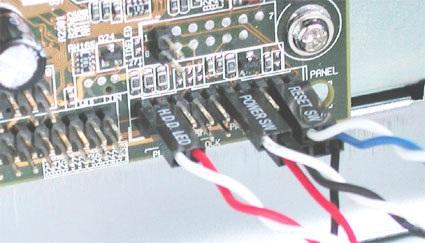 motherboard leds