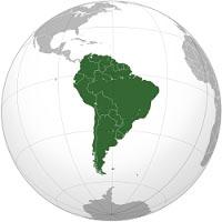 אתרי גוגל דרום אמריקה