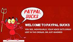 paypal sucks אתר נפגעי פייפאל בעולם