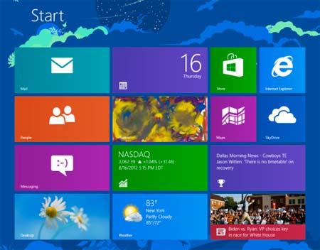 windows 8 start poptop
