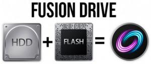 דיסק לוגי apple fusion drive