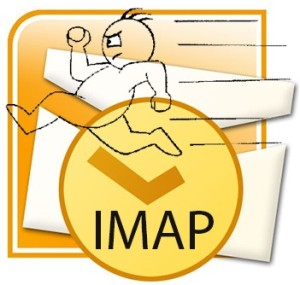 outlook imap how to set
