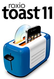 תוכנת צריבה מתקדמת למקינטוש Roxio Toast Titanium