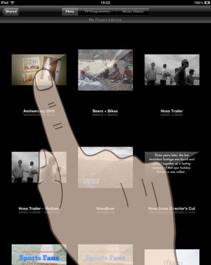 איך לצפות בסרטים דרך אייפד (iPad) – סרטים משותפים ממחשב המקינטוש