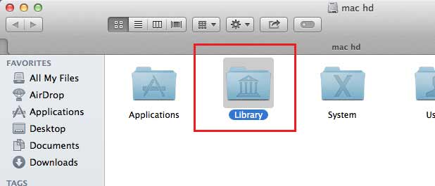 תיקיית ספרייה
