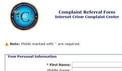 דיווח על פגיעה דואר