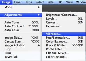 שיפור תמונה שתי אופציות כניסה להגדרות