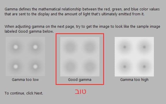 עיגולים Gamma