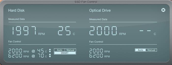 תוכנת-SSD FAN CONTROL