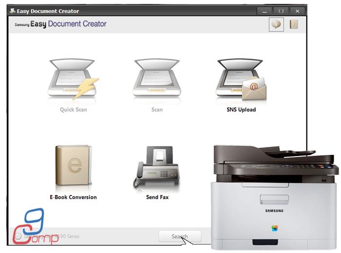התקנת מדפסת סמסונג - לא ניתן לסרוק