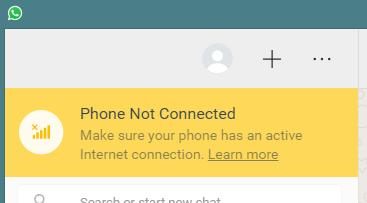 סלולר לא מחובר וואצאפ מחשב