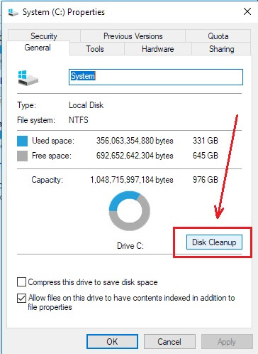 disk-clean-up-windows