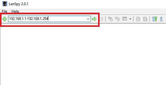 טווח כתובת IP בתוכנה